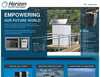 horizonfuelcell.com screenshot