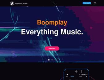boomplaymusic.com screenshot