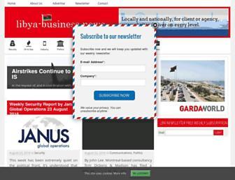 libya-businessnews.com screenshot