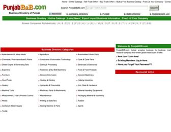 punjabb2b.com screenshot