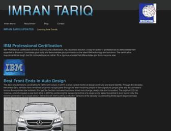 imrantariq.com screenshot
