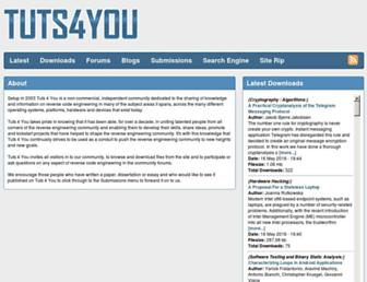 tuts4you.com screenshot