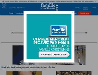 Thumbshot of Famillechretienne.fr