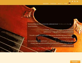 musiciansway.com screenshot