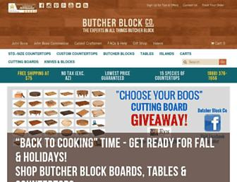 butcherblockco.com screenshot