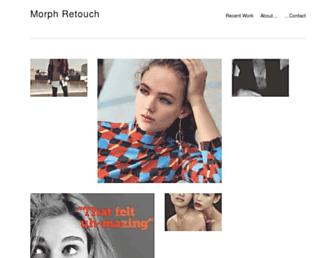 morph-retouch.co.uk screenshot