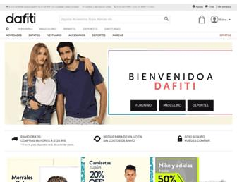 dafiti.com.co screenshot
