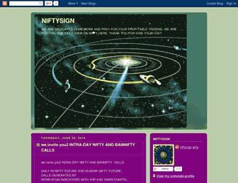 niftysign.blogspot.com screenshot