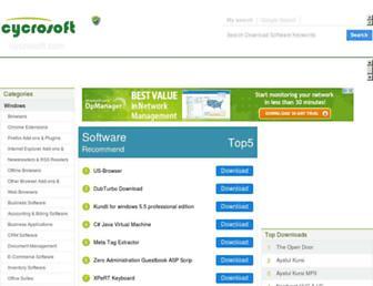 cycrosoft.com screenshot