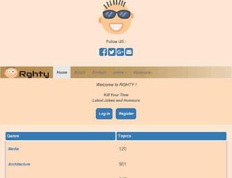 rghty.com screenshot