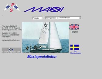 maxispecialisten.se screenshot