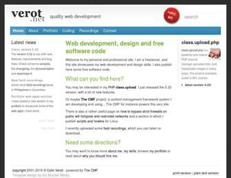 verot.net screenshot