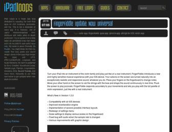 ipadloops.com screenshot
