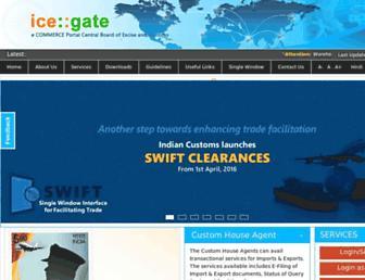 Thumbshot of Icegate.gov.in