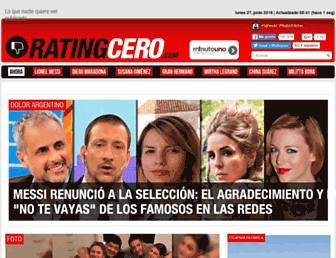 ratingcero.com screenshot