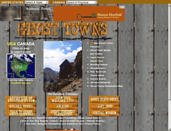 Thumbshot of Ghosttowns.com