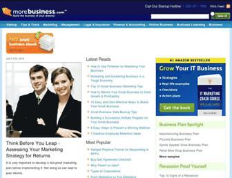 morebusiness.com screenshot