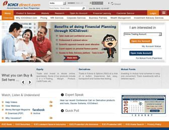 Thumbshot of Icicidirect.com