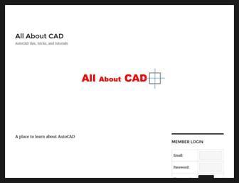 allaboutcad.com screenshot