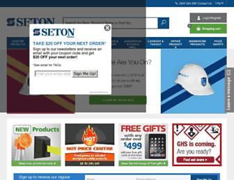 seton.net.au screenshot