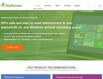 iseepassword.com screenshot