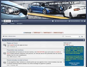 bmw-serie3.com screenshot