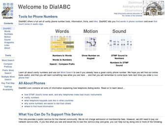dialabc.com screenshot