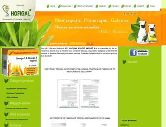 hofigal.eu screenshot