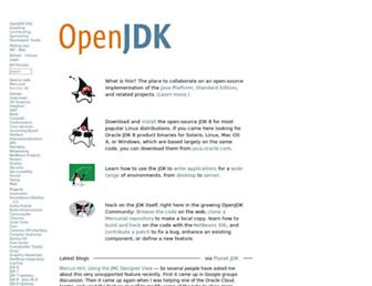 openjdk.java.net screenshot
