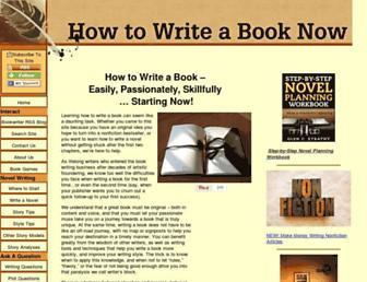 Thumbshot of How-to-write-a-book-now.com