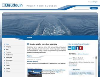 baudouin.com screenshot