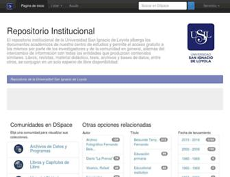 repositorio.usil.edu.pe screenshot