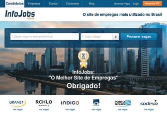 infojobs.com.br screenshot