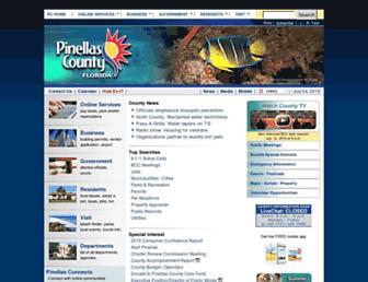 pinellascounty.org screenshot