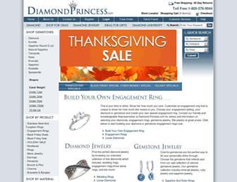 Thumbshot of Diamondprincess.com