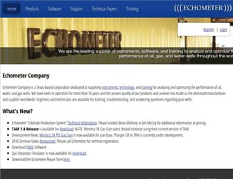 echometer.com screenshot