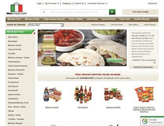 Thumbshot of Mexgrocer.com
