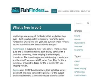 fishfinders.info screenshot
