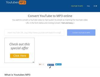 Thumbshot of Convertonmp3.com