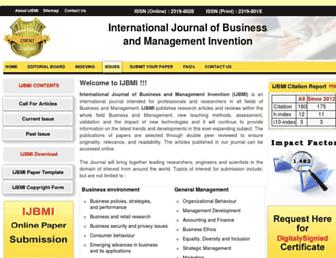 ijbmi.org screenshot