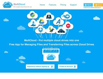 Thumbshot of Multcloud.com