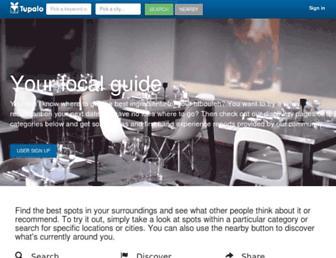 tupalo.co screenshot