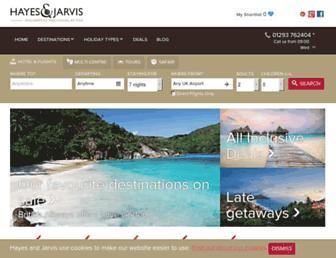 Thumbshot of Hayesandjarvis.co.uk