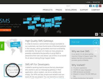 vianett.com screenshot