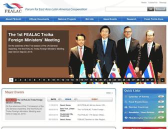 fealac.org screenshot