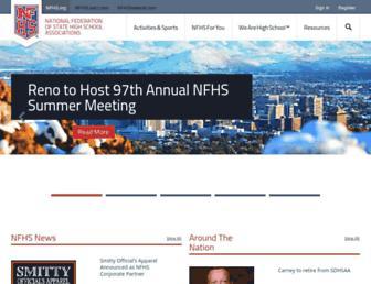 Thumbshot of Nfhs.org