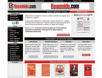 resumido.com screenshot