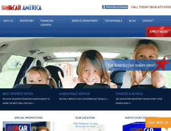 caramerica.com screenshot