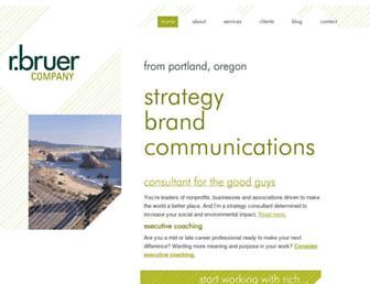 rbruer.com screenshot
