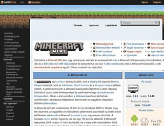 minecraft-hu.gamepedia.com screenshot